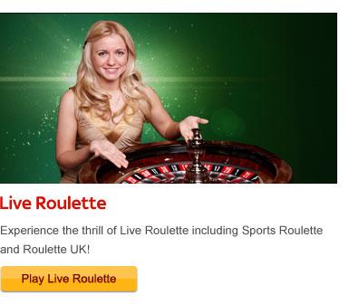live roulette free bonus
