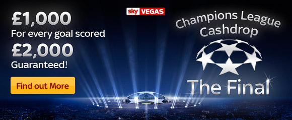 Champions League Cashdrop