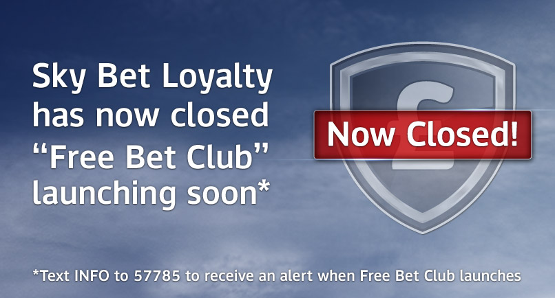 Free Bet Club coming soon