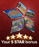 your 5 star bonus