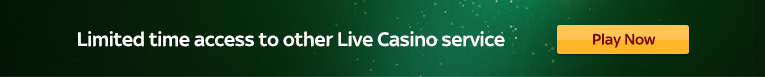 live casino page mobile banner