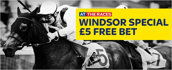 Windsor Racing Offer (£5 free)