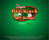Blackjack with 20+ Bonus