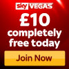 Skyvegas £10 free no deposit required