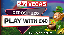 Deposit £20 Play With £40