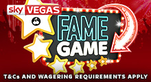 Sky Vegas Fame Game