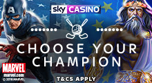 Sky Casino Ryder Cup - Choose Your Champion