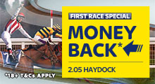 Haydock First Race Special