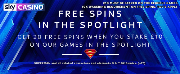 Sky Casino Free Spins in the Spotlight