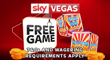 Sky Vegas Free Game