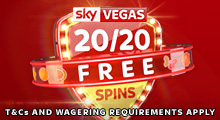 Sky Vegas 20/20 Free Spins