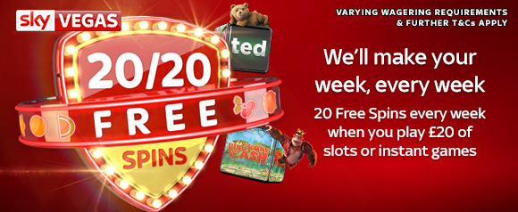 20/20 Free Spins
