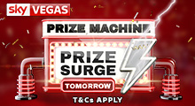 Sky Vegas Price Surge Tomorrow