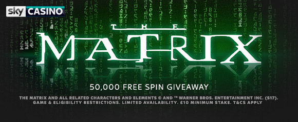 The Matrix Free Spins