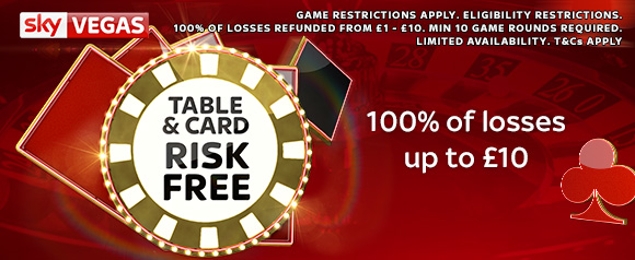 Vegas 100% Risk Free