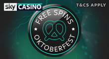 Stake £2 for 5 Free Spins