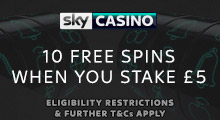 Sky Casino Free Spins Lounge