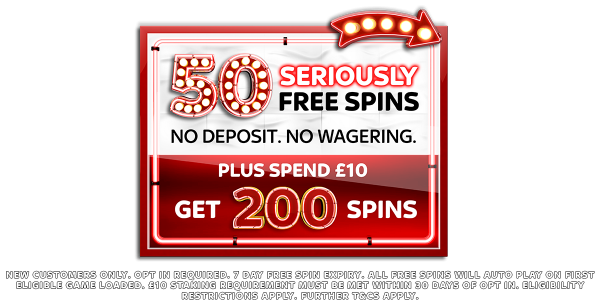 New Customer Offer Sky Vegas Online Casino 50 Seriously Free Spins