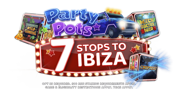 The Party Bus is back, and it's full of prizes! | Sky Vegas