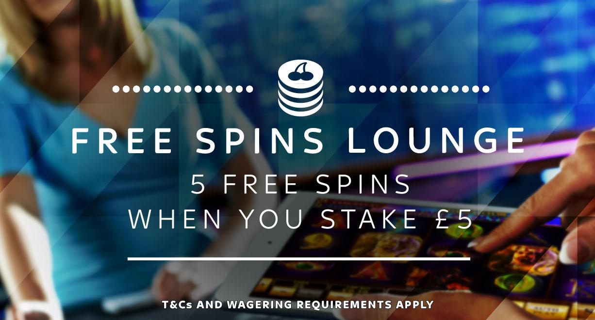 Free Spins Lounge S5G5FS Jan