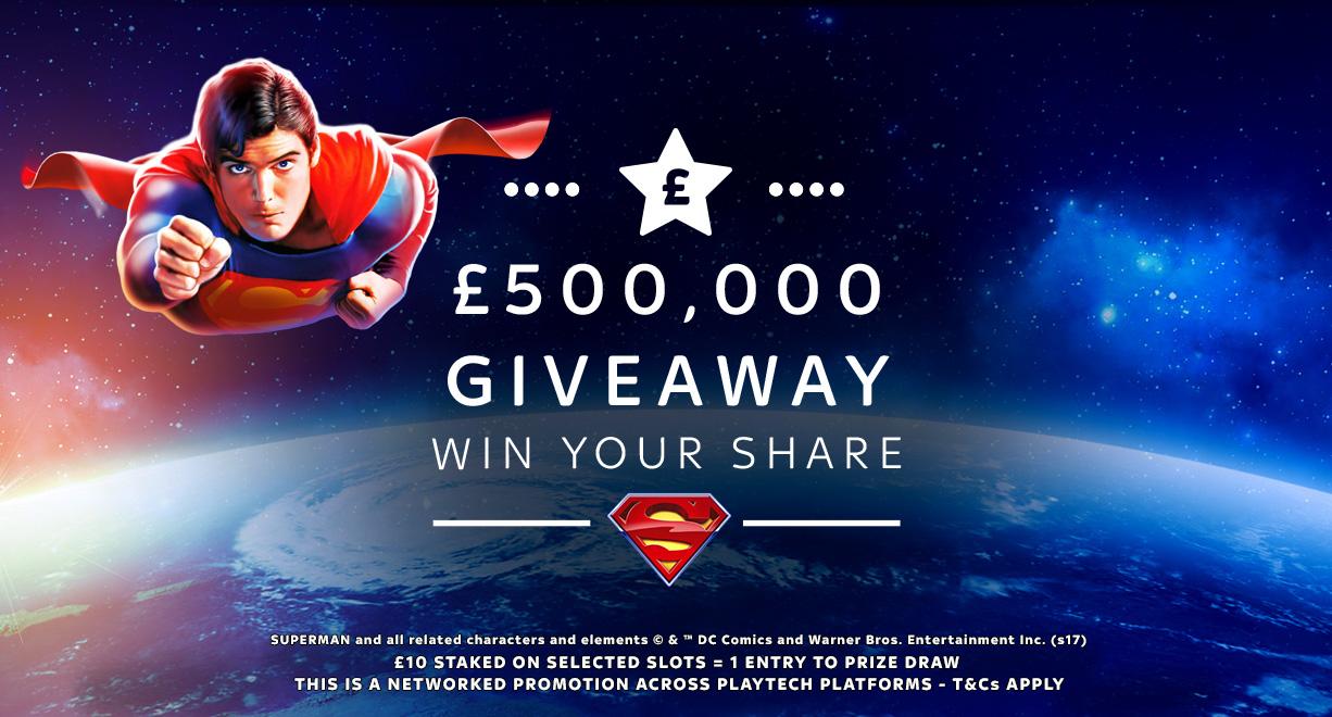 £500K Giveaway Feb
