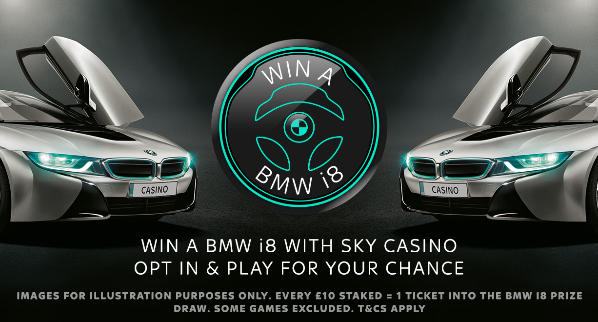 BMW i8 Giveaway Opt-In