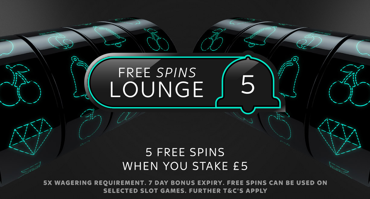 C.XS.Free.Spins.Lounge.S5G5FS.May2