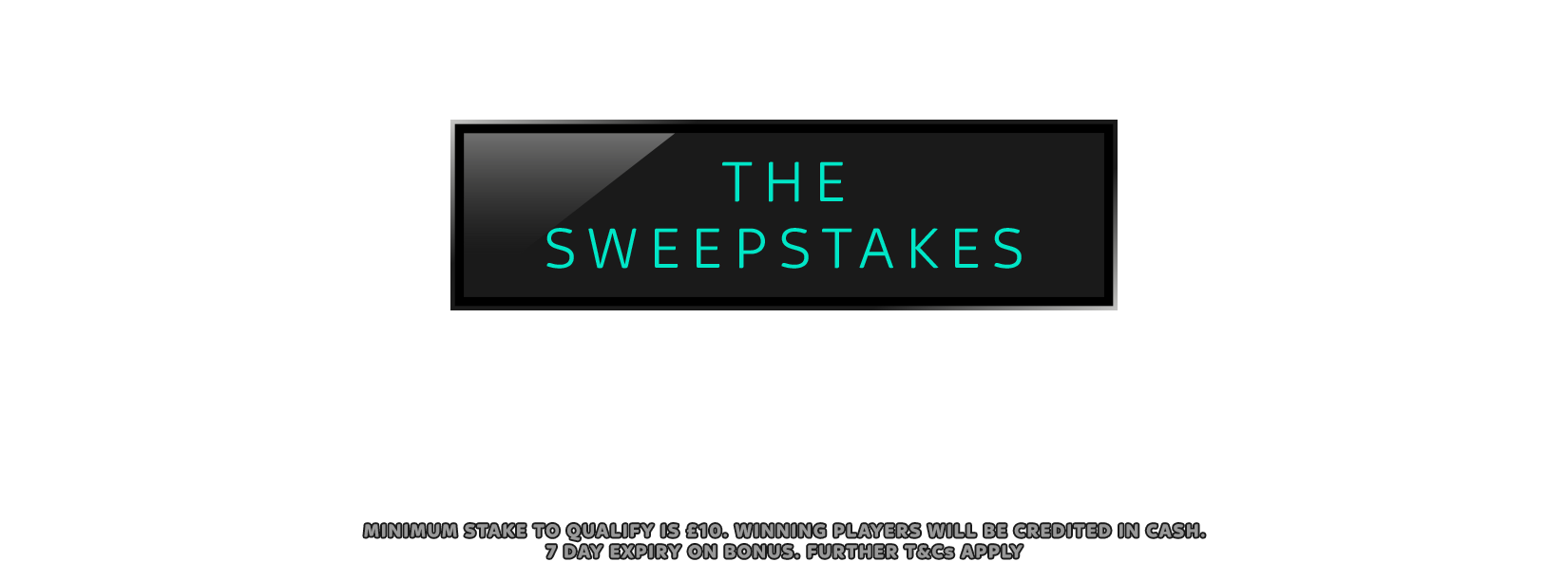 C.XS The Sweepstakes – US Open