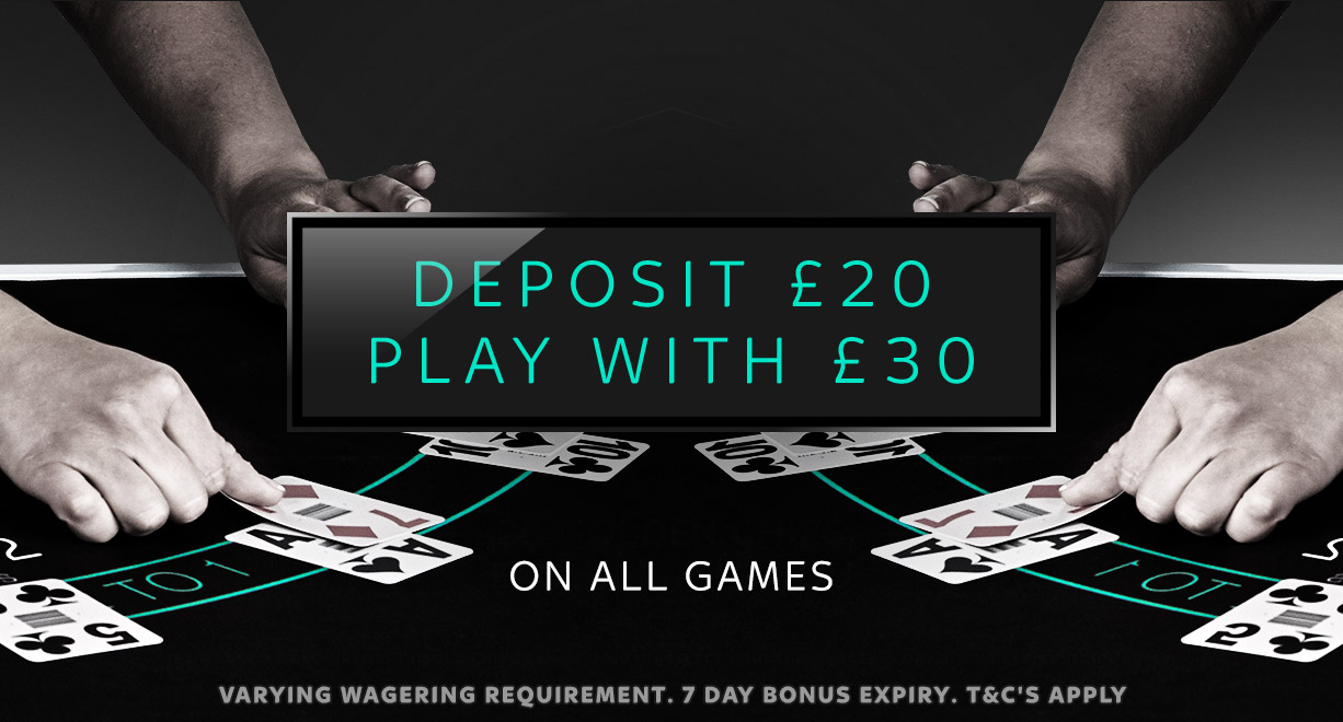 C.O.Deposit20PlayWith30