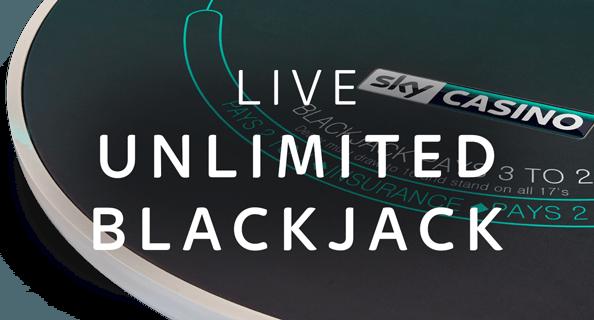 Unlimited Live Blackjack