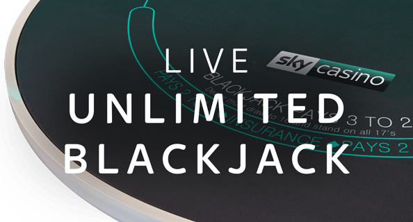 Unlimited Live Blackjack